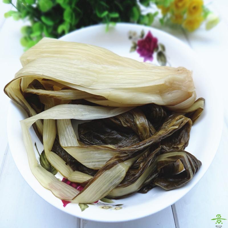 咸菜(长梗白菜)