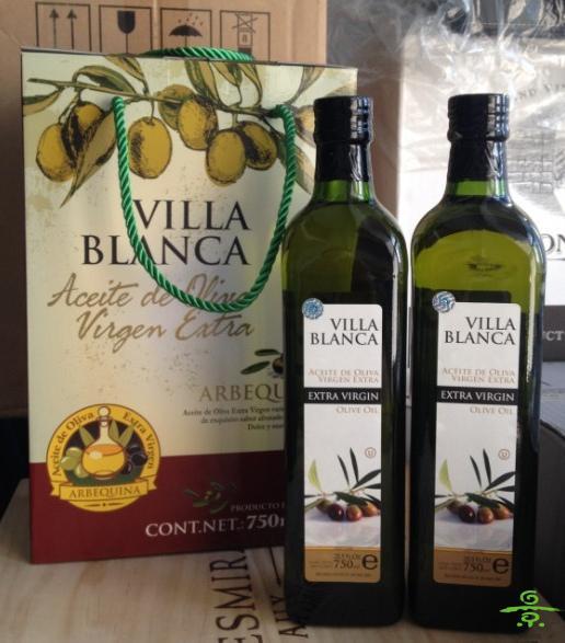 1000ml特价布兰卡庄园百谷特级初榨橄榄油